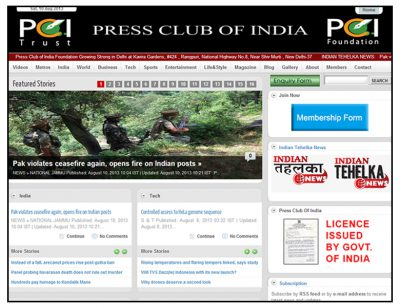 PRESS CLUB OF INDIA