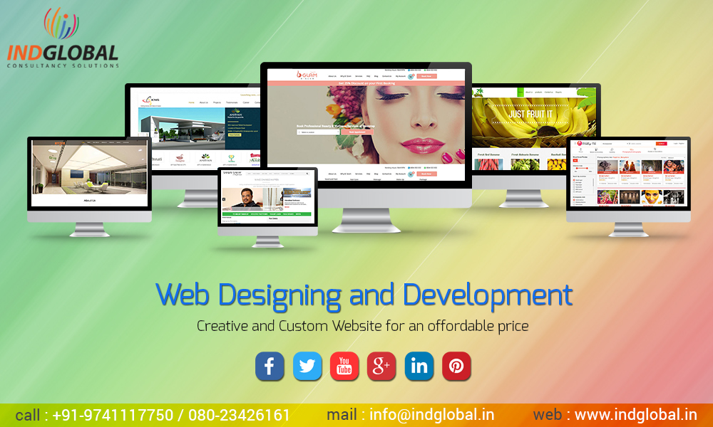 web-designing company in bangalore, india