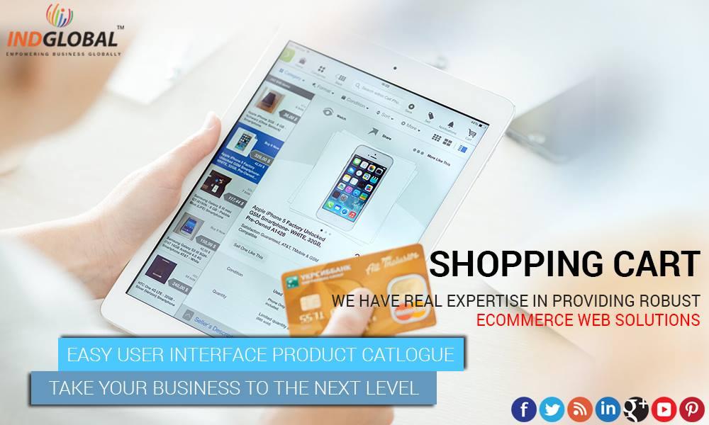 Ecommerce website design in domlur