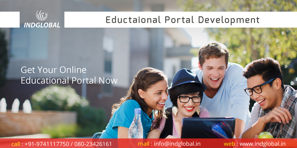 Educational portal development company in India