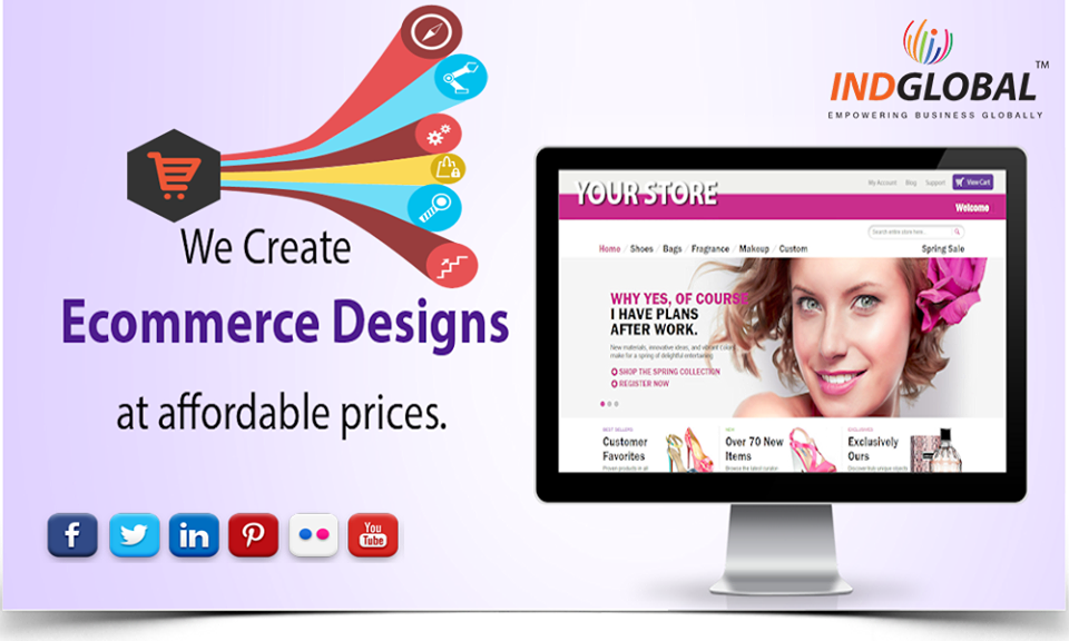 E-commerce website design in Qatar