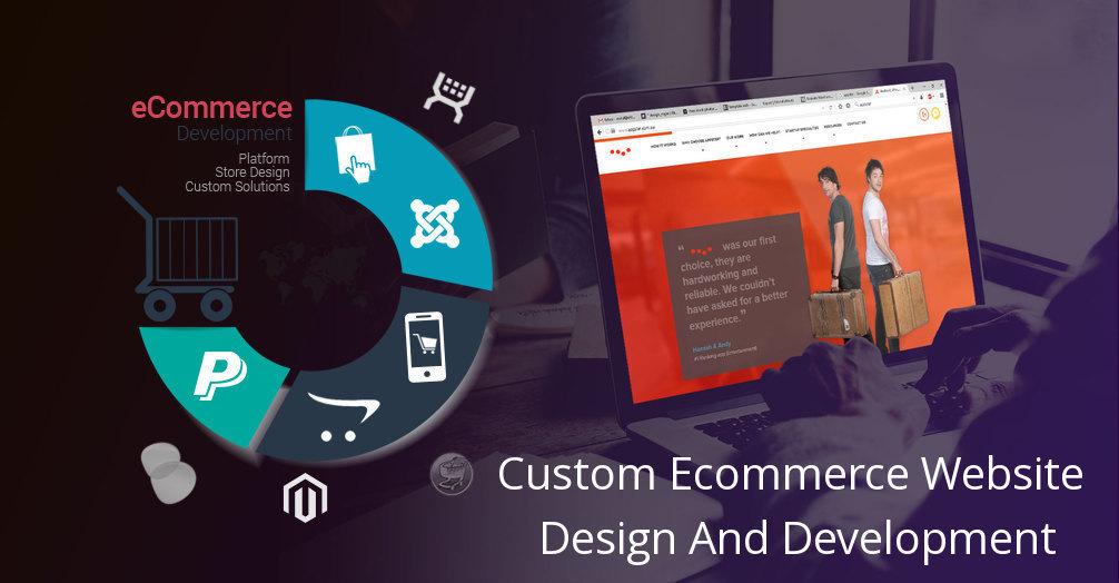 Custom e-commerce development in India