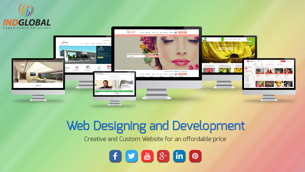 UI website design in India