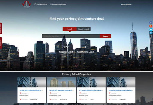 Indglobal-real-estate-portalwork verifiedjv