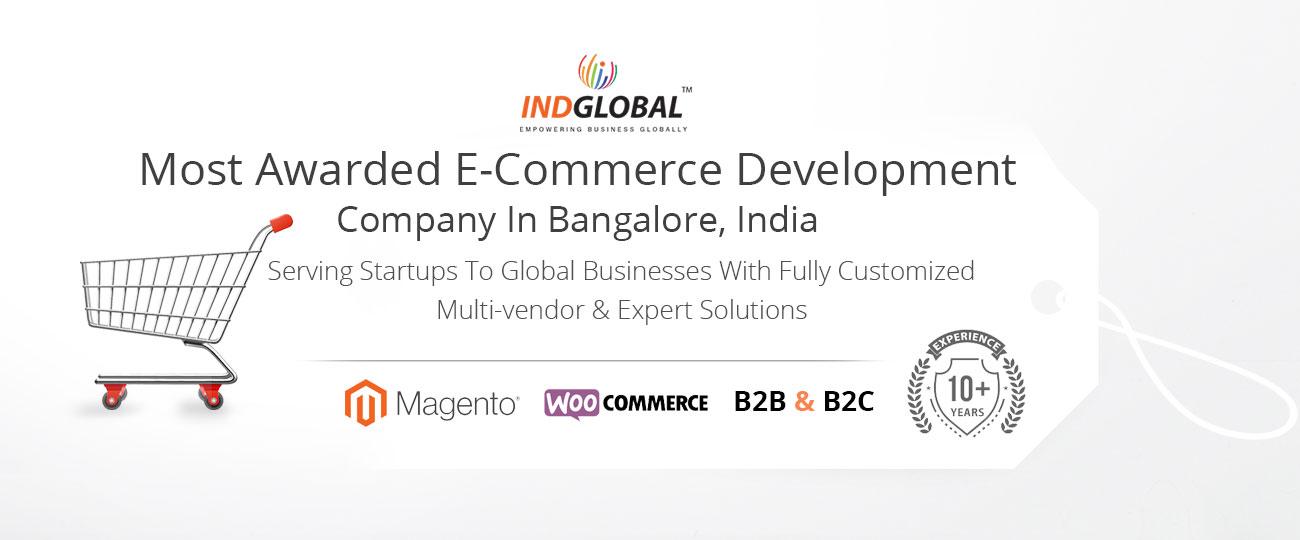 Ecommerce website design in India