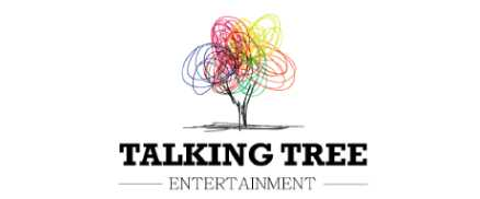 Talking tree entertainment logo design work by Indglobal Bangalore