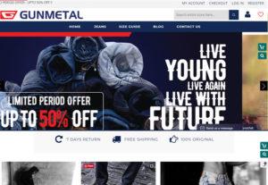 gunmetal-ecommerce