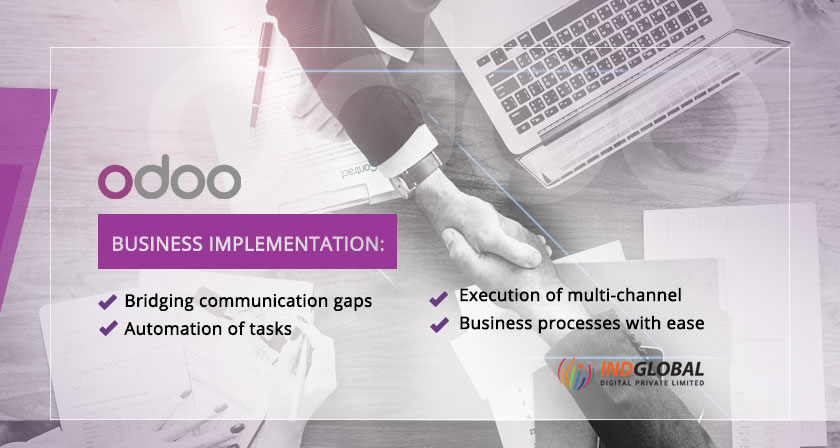 ODOO consulting services business-implementation